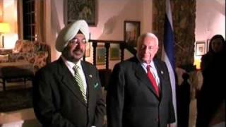 Ariel Sharon and Raminder Jassal (India - Israel Relations)