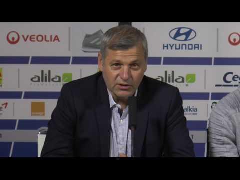 OL : la présentation de Mendy et le point mercato de Jean-Michel Aulas