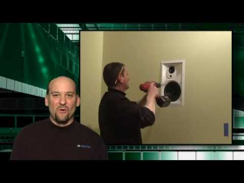 Installing An In Wall Speaker Youtube