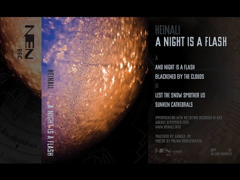 Heinali - A Night Is A Flash (2016, NEN records)