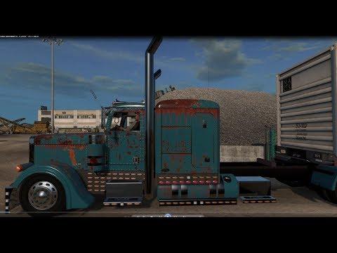 American Truck Simulator 389 Peterbilt Viper Dirty Ole Truck