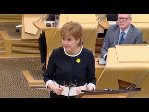 First Minister's Questions - 1 March 2018