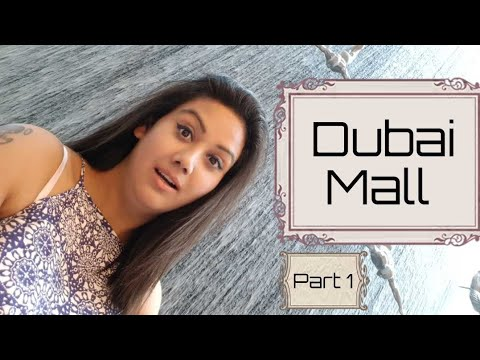 The Dubai Mall | Water fountain | Burj Khalifa | Mamta Sachdeva | Cabin Crew Day Off | Part 1 |