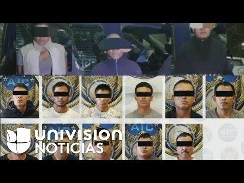 Detienen a 35 presuntos miembros de cárteles que se disputan el narcotráfico en el centro de México
