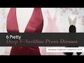 6 Pretty Deep V-Neckline Prom Dresses Amazon Fashion Collection 2017