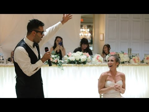 Groom SURPRISES Bride with a Love Song!
