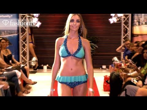 Bikini Models On The Runway - Show 2 @ Gold Coast Swim Fashion Week 2011   FashionTV - FTV.com