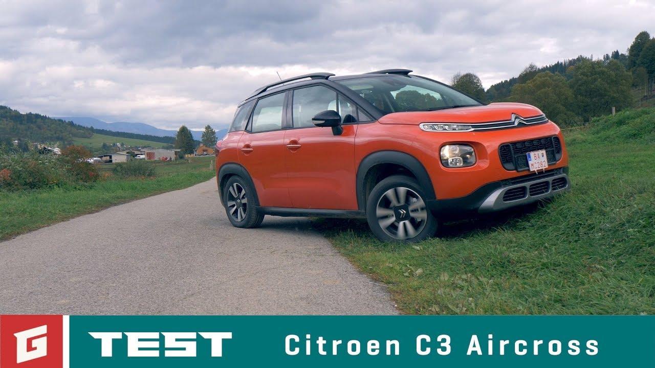Citroen C3 Aircross SUV - GARAZ.TV - TEST - Rasto Chvala - YouTube