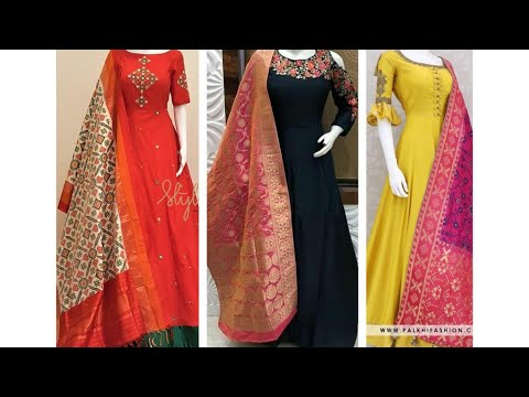 Most Beautiful Indian Gowns,Bridal Gowns, Net Party Wear Gowns, Top 5 Gowns 2020 from YouTube · Duration:  5 minutes 50 seconds