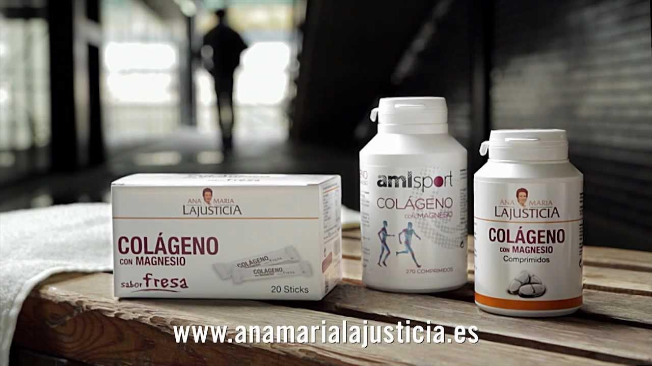 Colágeno con Magnesio de Ana Mª Lajusticia - YouTube