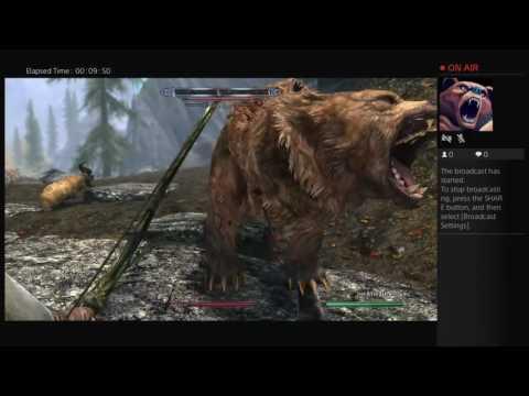 Skyrim special edition gameplay