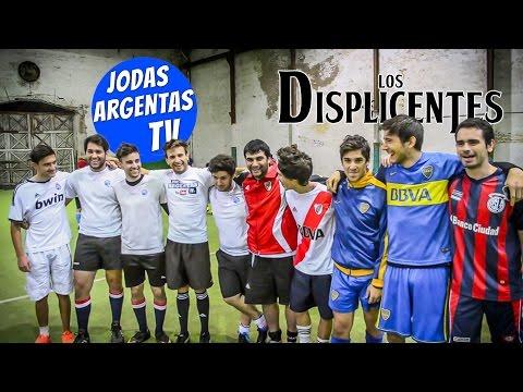 Los Displicentes vs Jodas Argentas | RETO en cancha de 5