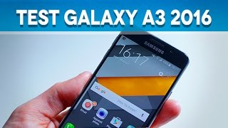 Test Samsung Galaxy A3 2016 - Test Mobile