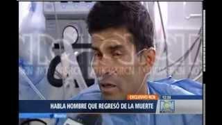 Colombiano regresa de la muerte y narra lo que vió