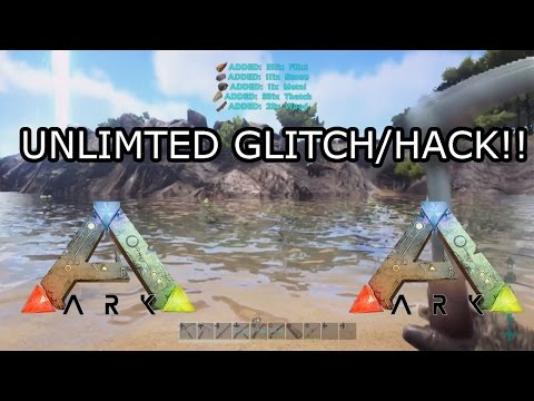 ARK: SURVIVAL EVOLVED - UNLIMITED RESOURCES GLITCH - XBOX ONE (v732.0)