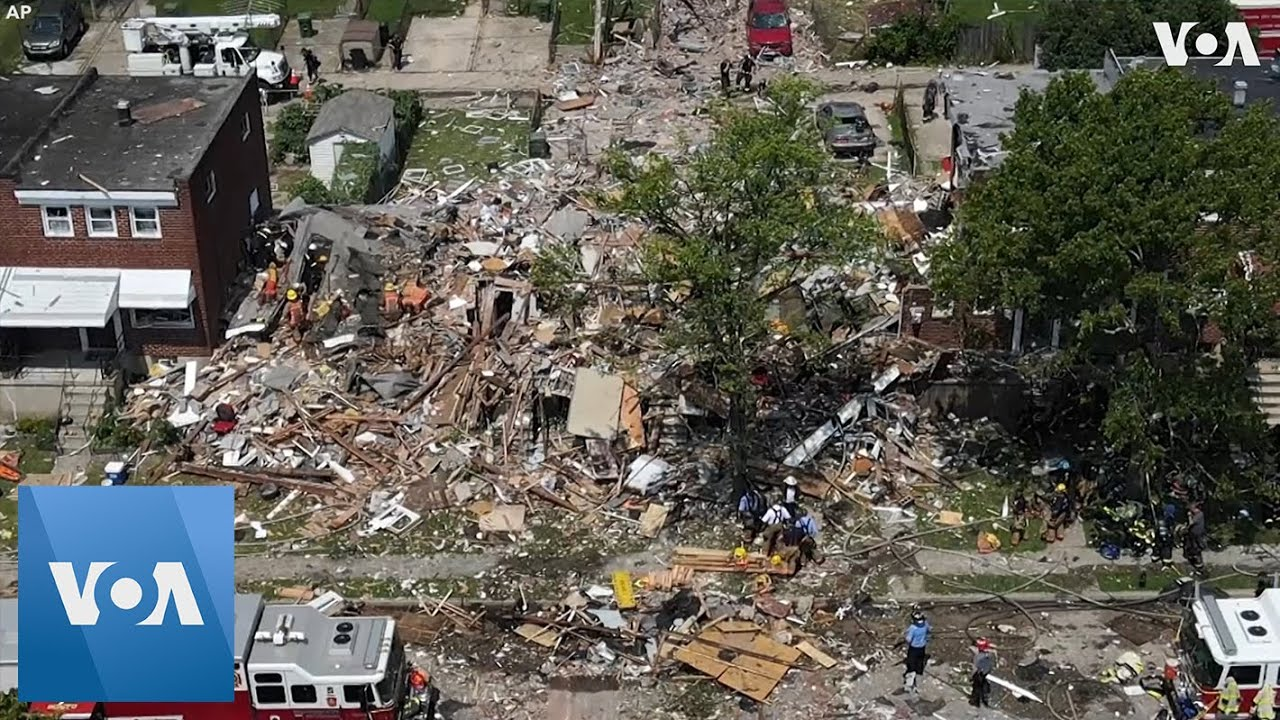 A 'Major Gas Explosion' In Baltimore Has Killed One Person, Injured ...