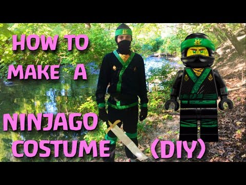 Make Your Own Green Ninja Costume! (DIY)