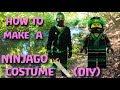 Make Your Own Green Ninja Costume! (DIY)