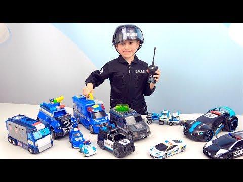 ПОЛИЦЕЙСКИЕ Машинки для детей и Полицейский Даник. Видео про МАШИНКИ для детей. Police Kids Cars