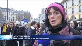 """Le cas de Jacqueline sauvage """"émeut profondément"""" Annie Duperey"""