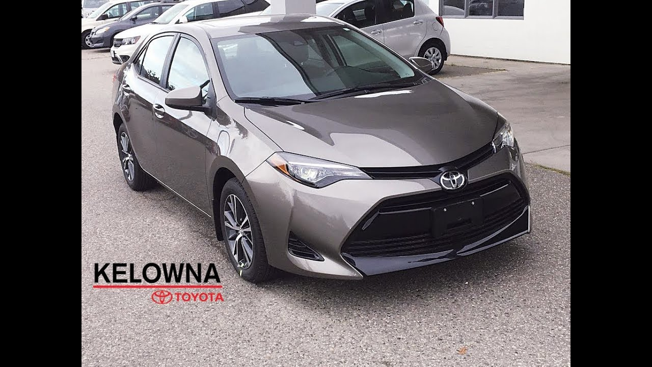 2019 Toyota Corolla Le Falcon Grey Upgrade Youtube