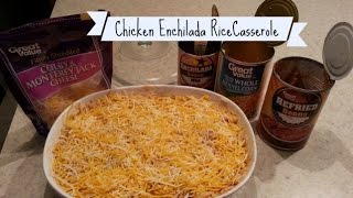 Win Or Fail Friday: Chicken Enchilada Rice Casserole!