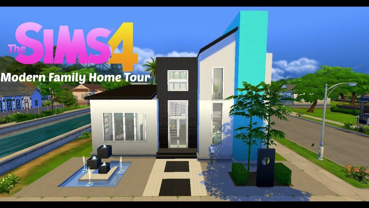Urban treehouse sims 4 houses - The Sims 4 House Tour Urban Oasis Family Home