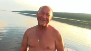 Рыбацкие моменты. Братское водохранилище. Ангара. Иркутская область.