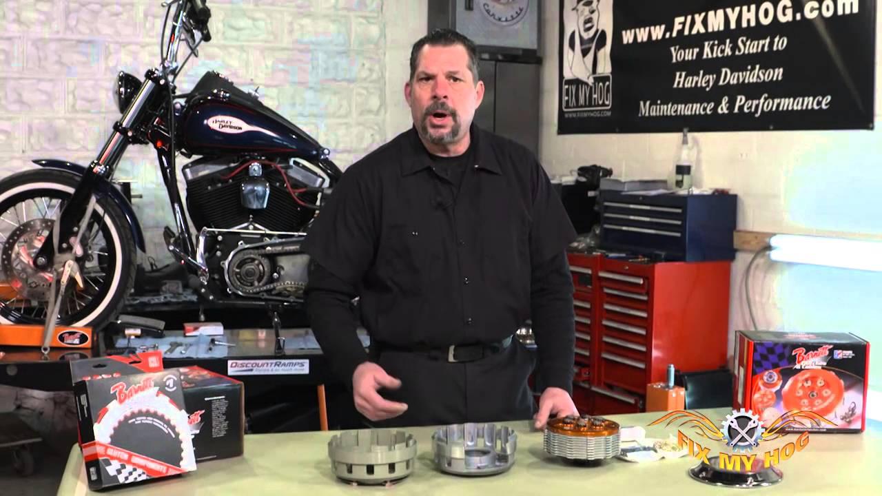 Harley Clutch Basket Failure Solution