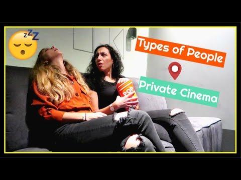 Κάναμε Τύποι Ανθρώπων σε μικρό σινεμά!!   Λάρισα    fraoules22