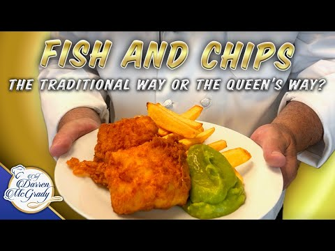 British Fish And Chips - The Traditional Way Or The Queen's Way?  - Part 1