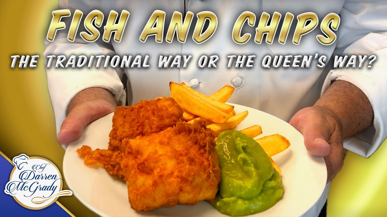 British Fish And Chips The Traditional Way Or The Queen S Way Part 1 Youtube