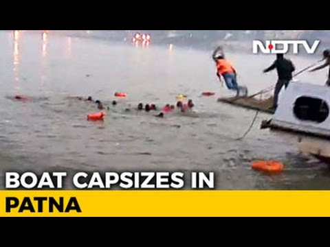 Watch: Rescuers, Locals Dive In To Save People After Patna Boat Tragedy