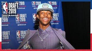 Ja Morant Selected 2nd OVERALL! | 2019 NBA Draft