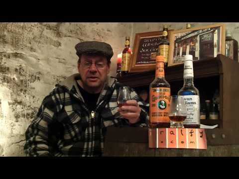 whisky review 590 - two Bottled In Bond Bourbons