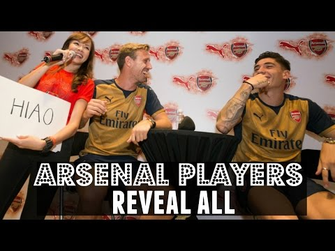 Arsenal Players Singapore SG50 Challenge