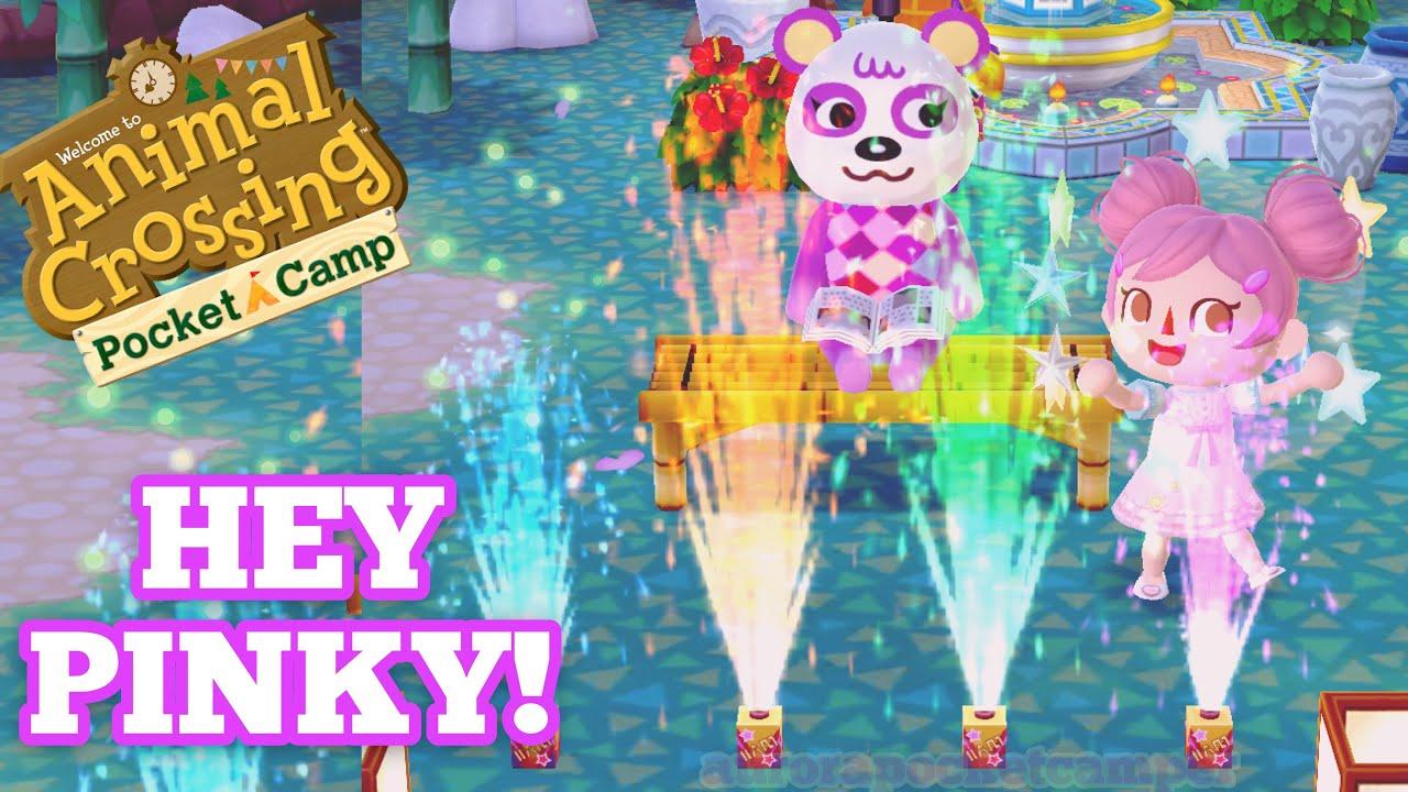 Animal Crossing NL - QR Code - Pinkie Pie Dress by