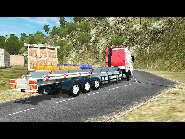 Kirim Truck Ke Bengkel Bak Bussid Mod Volvo | Game Simulator Android