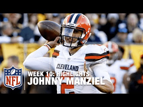Johnny Manziel Highlights (Week 10) | Browns vs. Steelers | NFL