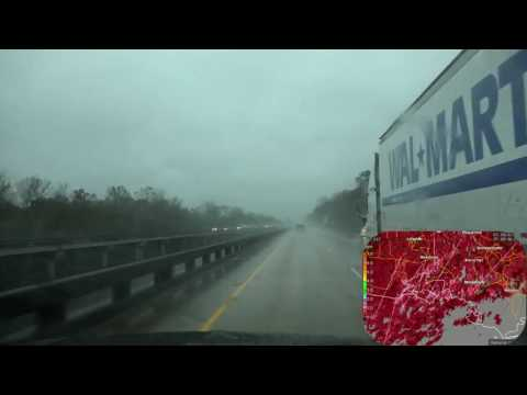 12/05/16 Storm Chasing along the Gulf States