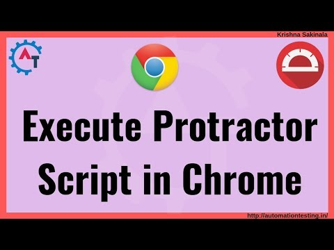 Protractor Tutorial 27 -  How To Run Protractor Test Cases In Chrome Browser | Browser Compatibility