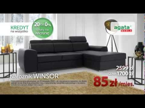 Agata Meble: 20 rat 0% - spłaty na wiosnę 2014 r. - YouTube
