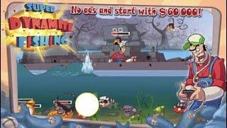 SUPER DYNAMITE FISHING MOD.... Game boom ikan Android....#momenlucu screenshot 3
