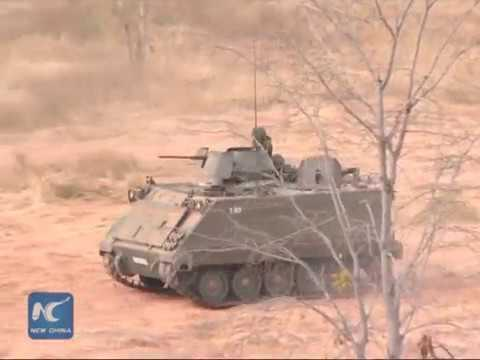 """Sneak peek of """"Cobra Gold"""", largest US-led military drill in Asia"""