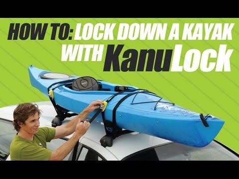 KanuLock   How To Lock A Kayak To Roof Racks