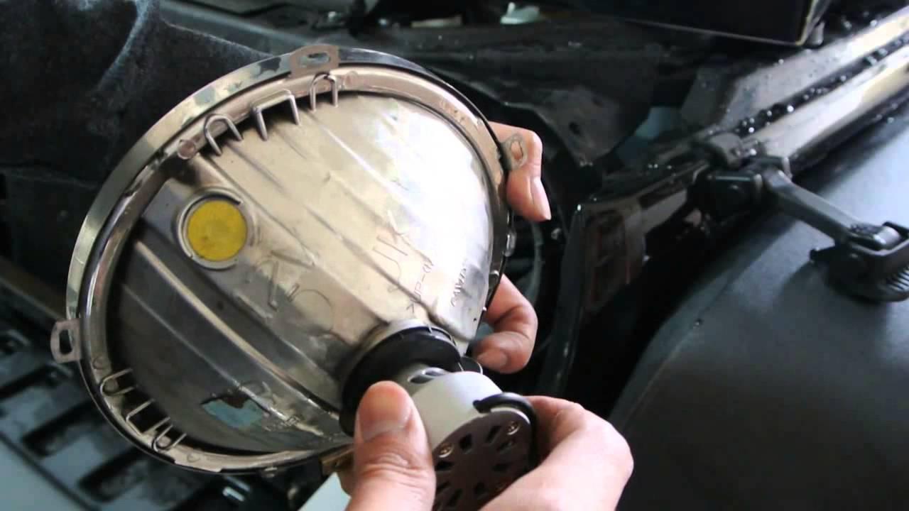 Led Headlight Conversion Jeep Wrangler Jk H13 Light Bulbs