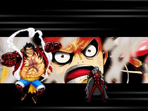 The mugen engine is currently set up primarily to combat game. Luffy Gear 4th Char Mugen Edited By Anhthai Preview And Download Youtube