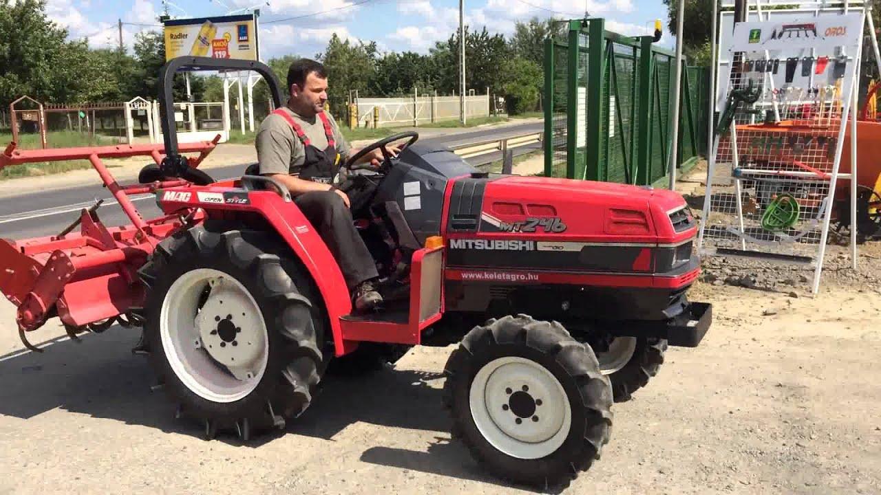Mitsubishi Compact Tractors : Mitsubishi mt d japanese compact tractor at the kelet
