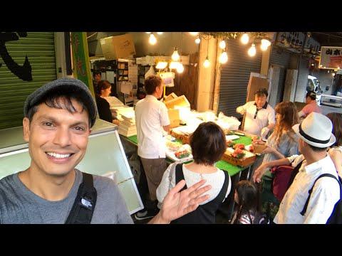 Tsukiji Fish Market's Moving Day | October 2018