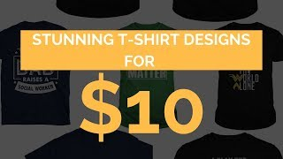 Ecomey TShirt Designs For Teespring, Amazon & Shopify Sellers thumbnail